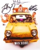 ONLY FOOLS & HORSES THE MUSICAL - CAST SIGNED PHOTOGRAPH