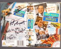 ONLY FOOLS & HORSES - CAST AUTOGRAPHED VHS COVER