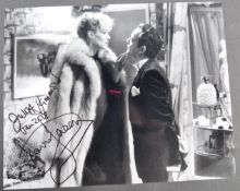 ONLY FOOLS & HORSES - SIR DAVID JASON & JULIET HAMMOND SIGNED PHOTO