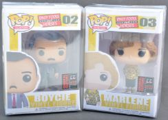 ONLY FOOLS & HORSES - CUSTOM POP VINYL ACTION FIGURES BOYCIE & MARLENE