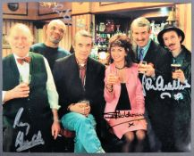 ONLY FOOLS & HORSES - CAST AUTOGRAPHED PHOTOGRAPH
