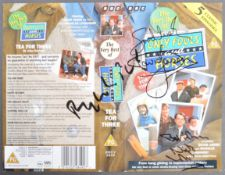 ONLY FOOLS & HORSES - JASON, LYNDHURST & PACK TRIPLE SIGNED COVER