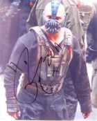 TOM HARDY - BATMAN DARK KNIGHT RISES - SIGNED PHOTO