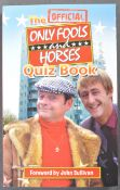 ONLY FOOLS & HORSES - MULTI-SIGNED ONLY FOOLS QUIZ BOOK