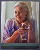 VANESSA REDGRAVE - ENGLISH ACTRESS - SIGNED 8X10""
