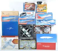 LARGE COLLECTION OF ASSORTED MODEL AEROPLANES