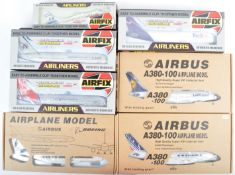 COLLECTION OF 1/200 SCALE AVIATION MODEL KITS