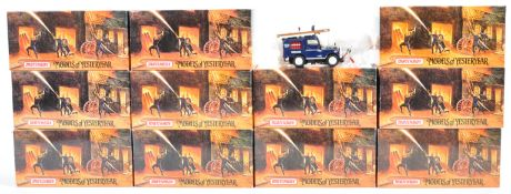 COLLECTION OF MATCHBOX FIRE ENGINE SERIES MODELS