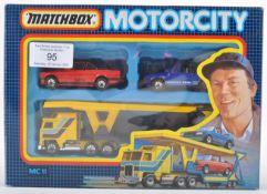 VINTAGE MATCHBOX MC11 CAR TRANSPORTER SET