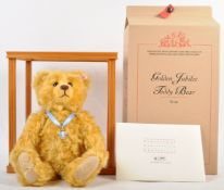 ORIGINAL GERMAN STEIFF GOLDEN JUBILEE TEDDY BEAR