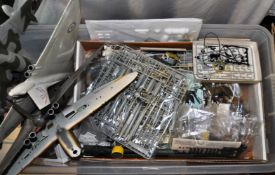 LARGE COLLECTION OF MODEL KIT PARTS AND ACCESSORIES