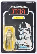 VINTAGE STAR WARS MOC CARDED ACTION FIGURE - AT-AT