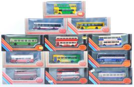 COLLECTION OF EFE 1/76 SCALE DIECAST MODEL BUSES