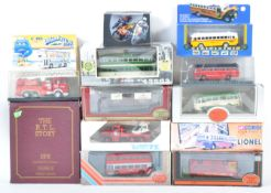 COLLECTION OF ASSORTED BOXED DIECAST MODEL VEHICLES