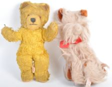TWO VINTAGE TEDDY BEARS - WENDY BOSTON & DOLLCRAFT