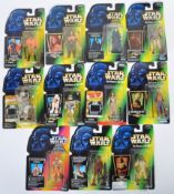 COLLECTION OF KENNER STAR WARS CARDED FIGURES