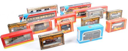 COLLECTION OF BOXED 00 GAUGE ROLLING STOCK MODEL RAILWAY
