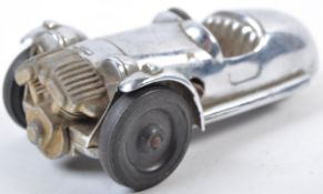 1940'S VINTAGE CLOCKWORK CHROME GAIETY TOYS MORGAN THREE WHEELER
