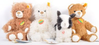 COLLECTION OF GERMAN STEIFF MADE TEDDY BEARS