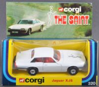 ORIGINAL EX-SHOP-STOCK CORGI 'THE SAINT' JAGUAR XJS 320
