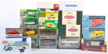 LARGE COLLECTION OF ASSORTED SCALE DIECAST MODEL VEHICLES