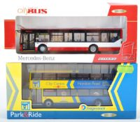 TWO CMNL CREATIVE MASTER 1/76 SCALE DIECAST MODEL BUSES