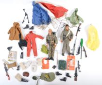 COLLECTION OF VINTAGE PALITOY ACTION MAN FIGURES AND ACCESSORIES