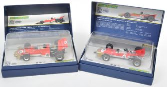 TWO HORNBY SCALEXTRIC SLOT RACING CARS