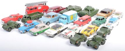 COLLECTION OF VINTAGE CORGI & DINKY TOYS DIECAST MODEL VEHICLES