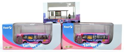 COLLECTION OF CREATIVE MASTERS CMNL DIECAST BUS MODELS