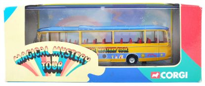 CORGI MADE 1/76 SCALE DIECAST BEATLES MAGICAL MYSTERY TOUR BUS