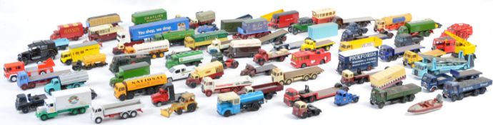 LARGE COLLECTION OF 1/76 SCALE DIECAST MODEL VEHICLES