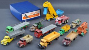 COLLECTION OF ORIGINAL DINKY TOYS DIECAST MODEL VEHICLES