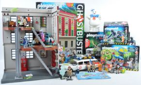 COLLECTION OF ORIGINAL PLAYMOBIL GHOSTBUSTERS PLAYSETS