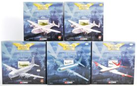 COLLECTION OF CORGI AVIATION ARCHIVE DIECAST MODEL PLANES