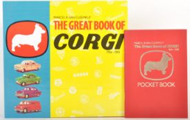 RARE ' THE GREAT BOOK OF CORGI 1956-1983 ' COFFEE TABLE BOOK