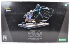 RARE KOTOBUKIYA STAR WARS DARTH VADER VS LUKE SKYWALKER KIT
