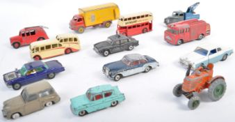 COLLECTION OF VINTAGE DINKY & CORGI TOYS DIECAST