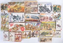 LARGE COLLECTION OF ASSORTED MODEL KITS