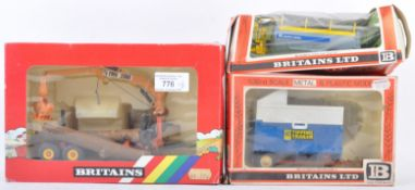 COLLECTION OF BRITAIN FARM SERIES BOXED DIECAST