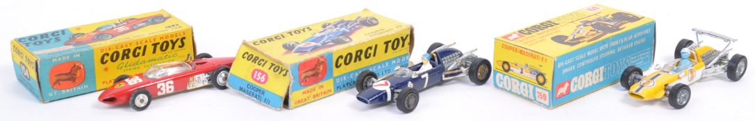 COLLECTION OF X3 VINTAGE CORGI TOYS DIECAST MODEL CARS