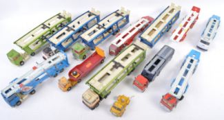COLLECTION OF ASSORTED CORGI TOYS CAR TRANSPORTERS
