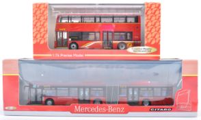 TWO CMNL CREATIVE MASTERS UKBUS SCALE DIECAST MODELS