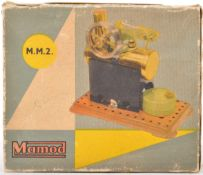 VINTAGE MAMOD STATIONARY STEAM MODEL ENGINE