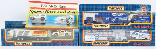 COLLECTION OF MATCHBOX DIECAST MODEL SETS