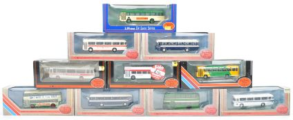 COLLECTION OF EFE1/76 SCALE DIECAST MODEL BUSES