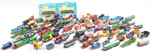 LARGE COLLECTION OF ERTL THOMAS THE TANK ENGINE DIECAST