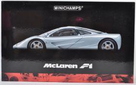 ORIGINAL MINICHAMPS 1/12 SCALE DIECAST MCLAREN F1 ROADCAR