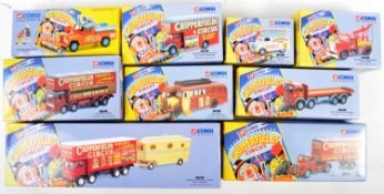 COLLECTION OF CORGI CLASSICS CHIPPERFIELDS CIRCUS DIECAST SETS