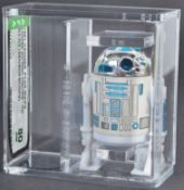 ORIGINAL AFA GRADED VINTAGE STAR WARS ACTION FIGURE R2D2
